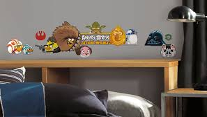 Angry Birds Star Wars Peel Stick Wall Decals Walldecals Com