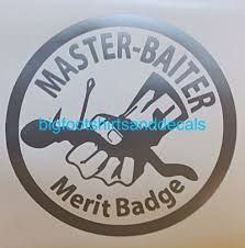 Find Car Decal Master Baiter Fishing Hook Bait Bass Trout Catfish Window Sticker Boat Motorcycle In Myrtle Beach South Carolina United States For Us 5 49