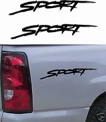 Dodge Sport Decal Truck Car Decals Window 2 Pack Ebay
