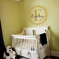 Buy Custom Family Name Wall Decal Monogram Vinyl Decal Initial Name Wall Sticker Circle Border Wall Decor Custom Name Wall Quote Nursery Room Art Decoration In Cheap Price On Alibaba Com
