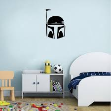 Dsu Boba Fett Vinyl Wall Sticker Madalorian Wall Decal Sale Price Reviews Gearbest