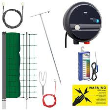Complete Kit With Small Animal Netting 50m 65cm Electric Fence Petcontrol