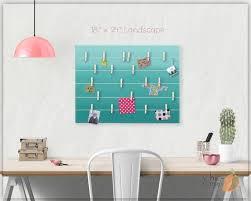 Wall Art Teens Room Bulletin Board Memo Holder Office Etsy