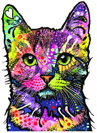 Amazon Com Enjoy It Dean Russo Cat Car Sticker Outdoor Rated Vinyl Sticker Decal For Windows Bumpers Laptops Or Crafts Toys Games