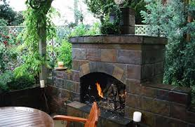 outdoor fireplace morongo valley ca