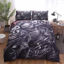 skull bedding sets at affordable