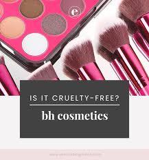 bh cosmetics vegan list