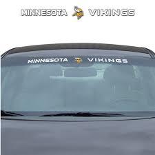 Nfl Minnesota Vikings Windshield Decal Fanmats Sports Licensing Solutions Llc