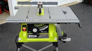 Ryobi Table Saw Review Tools In Action Power Tool Reviews