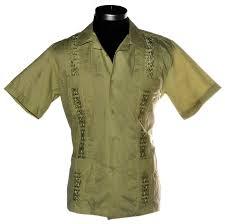 shirt guayabera by mk shirts los