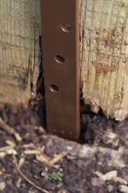 Fence Post Repair Quick Easy Affordable Post Buddy Uk In 2020 Fence Post Repair Fence Post Wood Fence Post