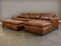 decorating with distressed leather sofa
