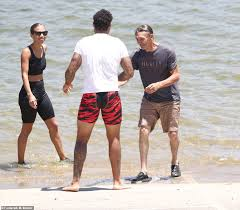 Naya Rivera's distraught father and brother swim in the lake she ...