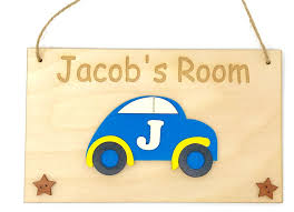 Home Decor Car Personalised Any Letter Name Children Kids Room Door Sign Plaque Yellow Privacyinchiaro It