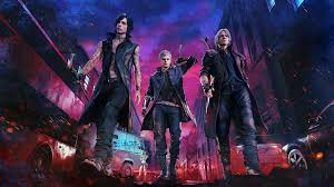 devil may cry 5 4k hd wallpapers