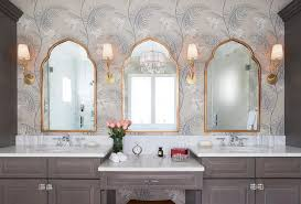 incredible three mirror vanity with