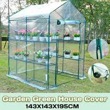 greenhouse grow house clear pvc