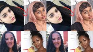 white influencers are being accused