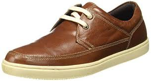 red tape men s tan leather casual shoes