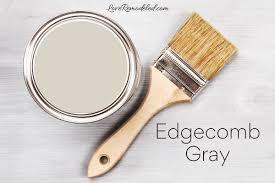 benjamin moore edgecomb gray paint