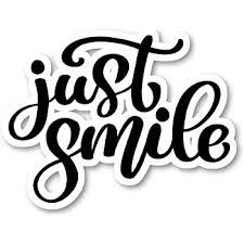 Amazon Com Just Smile Sticker Cursive Quotes Stickers Laptop Stickers 2 5 Vinyl Decal Laptop Phone Tablet Vinyl Decal Sticker S81828 Computers Accessories
