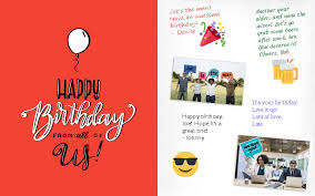 group cards for the office group greeting
