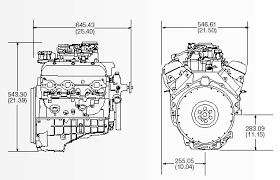 gm crate engine dimensions