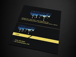 Bold Serious Business Card Design Job Business Card Brief For A Company In United States