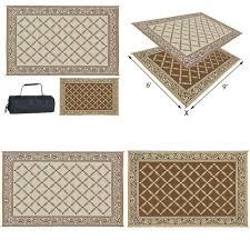 reversible outdoor camping floor mat