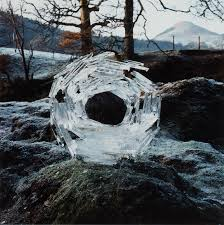 Andy Goldsworthy (b. 1956) | River Ice Wrapped Around a River ...