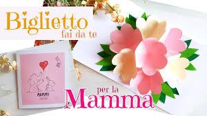 BIGLIETTI fai da te per la FESTA della MAMMA (2020) biglietto pop ...