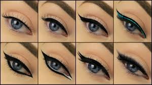 8 diffe eyeliner styles