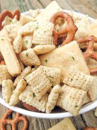 ranch chex party mix sprinkle some sugar