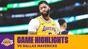 HIGHLIGHTS | Anthony Davis (31 pts, 8 reb) vs Mavericks (11/1/19 ...