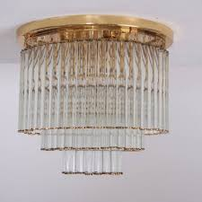 brass flush mount ceiling lamp