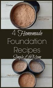 4 homemade foundation recipes simple