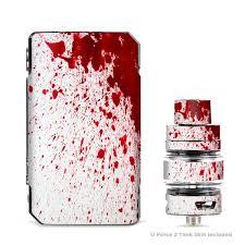 Skin Decals For Voopoo Drag 2 Kit Blood Splatter Dexter Itsaskin Com