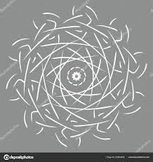 Mandala Illustratie Kleurplaten Voor Volwassenen Ronde Abstracte