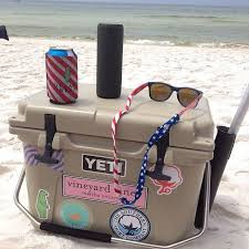 Wish David Would Let Me Put Stickers On Our Yeti Yeti Coolers Yeti Cooler Yeti