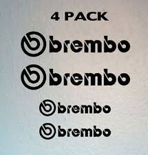 Brembo Car And Truck Graphics Decals For Sale Ebay