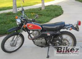 1975 honda xl 250 specifications and