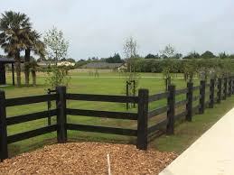 Image From Http Www Beamsandtimber Co Nz Assets Entries Entry Black Stained Post And Rail Timber Fence Jpg Fence Design Wooden Fence Post And Rail Fence