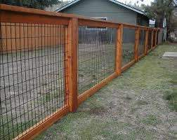 Hog Wire Fence Design Construction Resources Backyard Fences Fence Design Cheap Fence