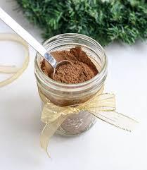 hot chocolate mix in a jar detoxinista