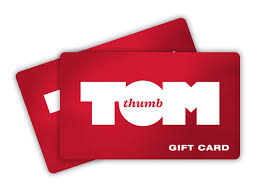 gift cards tom thumb food s