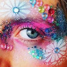 book glitter makeup artist