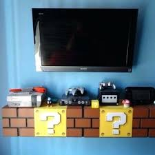 Mario Bedroom Decor Best Of D View Super Games Art Kids Room Atmosphere Ideas And Luigi Odyssey Sonic Wall Pokemon Halo Reach Princess Apppie Org