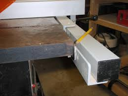 Installation Of Delta 36 T30 T2 30 Fence On Beaver 34090a Table Saw Canadian Woodworking And Home Improvement Forum
