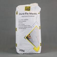 dura fix mastic tile adhesive duram