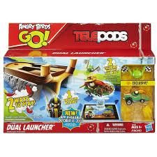 Angry Birds Go Telepods Dual Launcher Set – Paralott